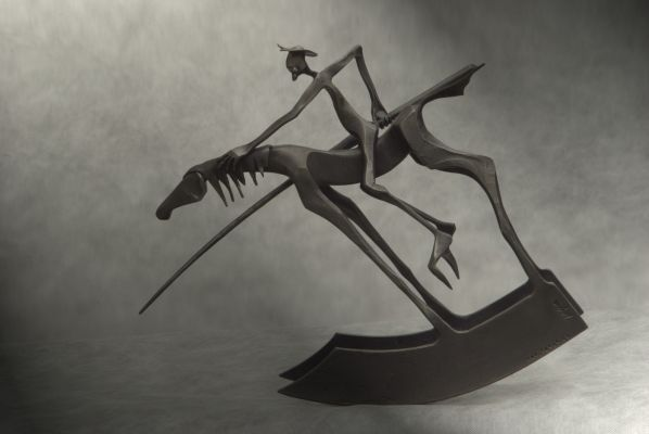 Don Q - forged sculpture - model